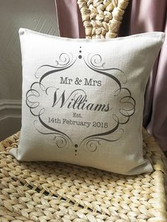 A personal favourite from my Etsy shop https://www.etsy.com/uk/listing/287116233/personalised-wedding-anniversary-mr-and