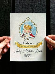 The English Room Blog / A Royal Baby Memento