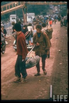 by the time we got there the fences had been knocked down and everyone was getting in free - as i remember Woodstock 1969