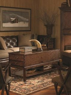 Attic Chest Cocktail Table Collection: Bob Timberlake Upholstery By Century  Furniture Contact At JoleanCrotts@