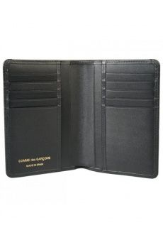 Embossed Letter wallet Black from the Comme Des Garcons collection. #GiftIdea #Gift #Fashion