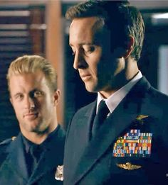 "crystalclear70:  ""Steve and Danny pronouncing their vows in uniforms"" #McDannoWedding"