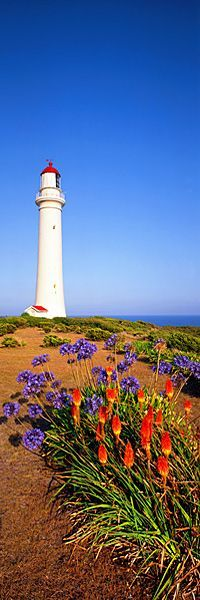 cool IN THE LIGHT, VIC - by Ken Duncan. Split Point Lighthouse, Aireys Inlet, Victori...