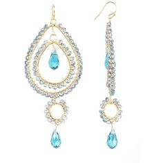 Pre owned teal rhinestone tribal chandelier earrings 32 pre owned teal rhinestone tribal chandelier earrings 32 liked on polyvore featuring jewelry earrings teal rhinestone earrings pre owned mozeypictures Images