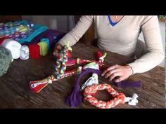 E-cursus Zelf fleece hondenspeeltjes maken - YouTube