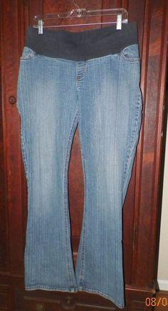 f074d97dc9fdd Motherhood Maternity Stretch Denim Jeans Sz L #fashion #clothing #shoes  #accessories #
