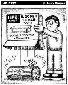 """""""Some assembly required!"""" 