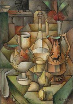 Jean Metzinger - Nature morte - 1911 - Cubism