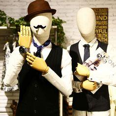Manekiny męskie Lniane tkaniny do sukni mody Górnej Części Ciała manekin manekin Dla Dorosłych na ubrania kosmetologii okno Wyświetlacz modelu
