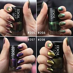 Coosa Metallic Nail Polish Crystal Sand Non Toxic Mirror Nail Lacquer Nail Varnish >>> Find out more about the great product at the image link.
