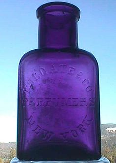 Crystal Vase Purple Glass And Amethyst Crystal On Pinterest