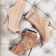Gorgeous Booties | www.ScarlettAvery... Women's Shoes - http://amzn.to/2gvL0Lo