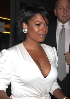 Scrumptious and Sexy Nia Long ... Snappy Hairstyles... Her earliest role was in the Disney television movie, The B.R.A.T Patrol alongside Sean Astin, Tim Thomerson and Brian Keith.