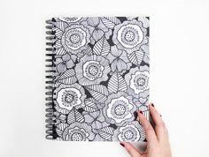 LARGE handmade art journal 1