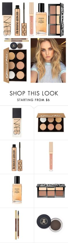 """""""Perrie's makeup💗"""" by katedoggett ❤ liked on Polyvore featuring beauty, NARS Cosmetics, Anastasia Beverly Hills, Stila, Chanel and Sephora Collection"""
