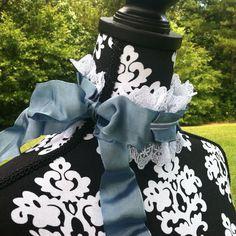 Rococo Madame de Pompadour Style French Blue Choker by DreamyGeek, $45.00