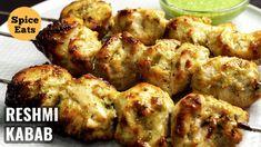 Indian Snacks, Indian Food Recipes, Chicken Reshmi Kabab Recipe, Chicken Tikka, Chicken Kebab, Cooking Recipes, Healthy Recipes, Healthy Food, Chicken Skillet Recipes