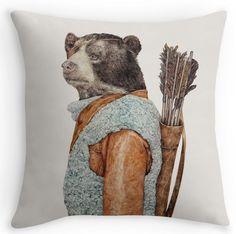 » 15 Cute and Comfy Animal Throw Pillows | Redbubble Blog