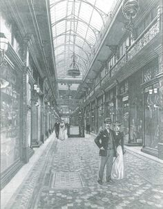 """The Strand Arcade officially opens and is described in The Sydney Mail - """"The arcade is in fact one of the sights of Sydney and all strangers to Sydney make a point of going through it"""". Sydney Australia, Australia Travel, Old Pictures, Old Photos, Terra Australis, Australian Photography, Botany Bay, Sydney City, Historical Images"""
