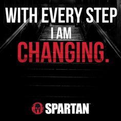 With Every Step be the change @SpartanRace