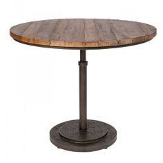 Valiant Furniture Hire - Industrial Cafe Table 920mm dia. x 760mm high