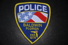 Baldwin Police Patch, Duval County, Florida