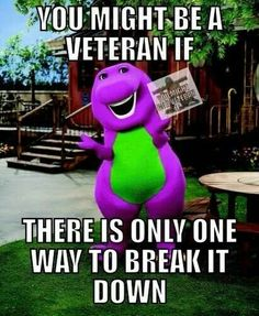 The most patriotic thing Barney did for us.