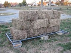 Good idea for when we run out of pallets.