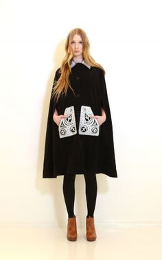 A/W 2014-2015 This Is For You Gram | Ivana Helsinki Scandinavian Fashion, Helsinki, Fashion Bags, Cape, Hipster, Graphic Sweatshirt, Boutique, My Style, Sweatshirts
