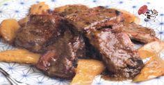 Os gustan las Costillas de Cerdo??, seguro que más os va gustar esta receta con melocotones, si quiere ver la receta pulsa en la foto y si desea guardarla, le das a compartir. http://cadizporestapa.blogspot.com.es/2016/10/costilla-de-cerdo-con-melocoton.html