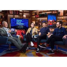 ryanbbabenzienFunny guys with @bravoandy - guest staring @greatsbrand #greatsbrand #madeinitaly. Style credit @samspector 2016/06/01 00:16:17