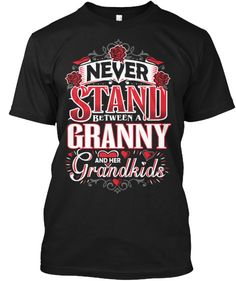 GRANNY AND HER GRANDKIDS ~ Tees and Long-Sleeves
