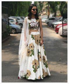 Bhumika Sharma collection Pakistani Lehenga, Pakistani Outfits, Indian Outfits, Indian Clothes, Saree, India Fashion, Ethnic Fashion, Asian Fashion, Chanya Choli