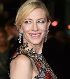 #CateBlanchett @cateblanchett looked absolutely gorgeous in the custom Alexander McQueen flower embroidered feather gown inspired by the Spring 2016 collection and Tiffany & Co. Jewelry @tiffanyandco at #BAFTA2016 @bafta awards last night.