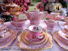 Rabbit and Rose {Vintage Tea Hire Company}