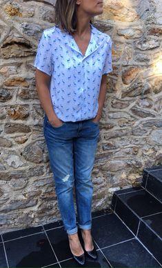 La chemisette Marie Claire Idées