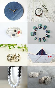 Around the clock, around the world, or just round  by Enrica Barri on Etsy--Pinned with TreasuryPin.com