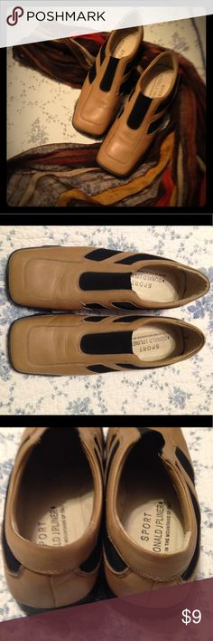 Donald J Pliner Sport Slip-Ons Wonderful Donald J Pliner Sport slip-ons. Super comfortable. Made in Italy. Sadly, they're too big for me. EUC. Donald J. Pliner Shoes Flats & Loafers