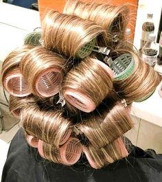 Roller Set, Pin Curls, Curlers, Hair, Strengthen Hair