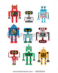robots  matching game?