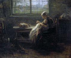 Исраэлс, Йозеф -- Moederweelde, 1890. Рейксмузеум: часть 3