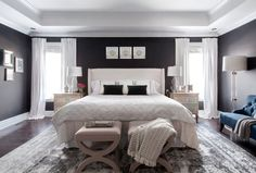 Get inspired by Modern Bedroom Design photo by Angela Price . Wayfair lets you find the designer products in the photo and get ideas from thousands of other Modern Bedroom Design photos. Modern Bedroom Design, Contemporary Bedroom, Modern Contemporary, Bedroom Designs, Couple Bedroom, Upholstered Platform Bed, Adjustable Beds, West Elm, Home Living Room