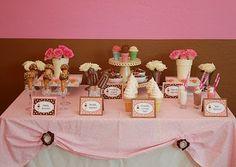 April Fools Dessert Table