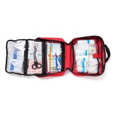 Check out our First Aid Kit- For Trauma Injury, Auto Emergency Kit, 72 pcs First Aid kit including trauma shears, large bandages, tourniquet and CPR Instructions