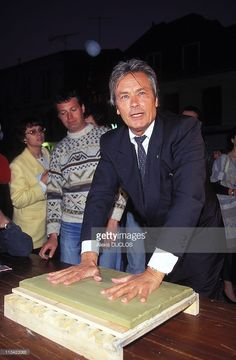 Opening With Alain Delon On June 4rd ,1995