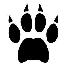 bobcat paw print clip art clipart best cricut projects rh pinterest com