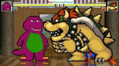 Barney The Dinosaur & Dave The Minion VS Bowser & Spider-Man In A MUGEN Match / Battle / Fight This video showcases Gameplay of Dave The Minion From The Despicable Me Series And Barney The Dinosaur From The Barney & Friends Series VS Bowser From The Super Mario Series And Spider-Man The Superhero In A MUGEN Match / Battle / Fight