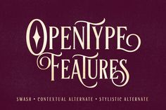 artisan display typeface font_the retro design toolbox #retro #design #deals