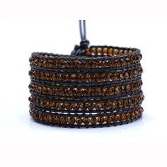Wrap Bracelet Caramel  by Ossington Avenue