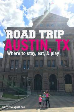 Family Road Trip to Austin #fromhereforhere #sp @ozarkaspringwtr